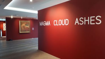 "L'exposition s'appelle ""Magma Cloud Ashes"""