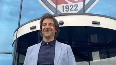 Jorge Simao, nouvel entraîneur de Mouscron.