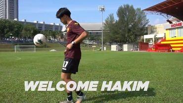 Le KV Courtrai accueille Luqman Hakim, jeune attaquant malaisien