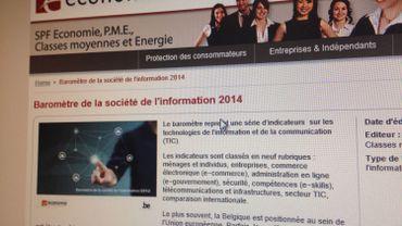 Le SPF Finance publie le Baromètre 2014 de la société de l'information en Belgique. Globalement le bulletin est bon, mais sur certains points, nous pouvons nous améliorer.