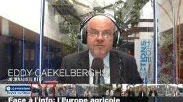 Face à l'info, enjeux européens: l'agriculture européenne et la concurrence