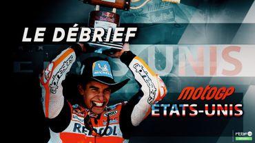 Rins ouvre son compteur, Rossi y a cru et Marquez abandonne à Austin