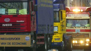 Traverser Bruxelles en camion devrait coûter deux à trois fois plus cher