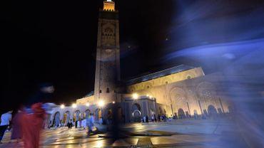 La mosquée Hassan II à Casablanca photographiée le 24 juillet 2014.