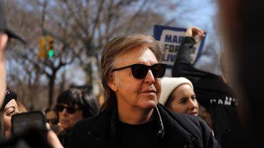 Em mars, Sir Paul McCartney s'était déjà engagé contre la violence des armes à feu