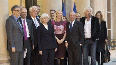 """""""One planet summit"""" à Paris: de grands investisseurs mettent la pression sur les entreprises polluantes"""