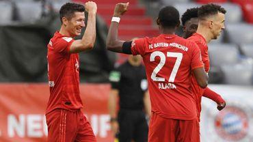 Le Bayern assure face à Francfort avant le Klassiker