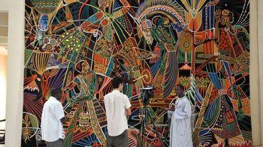 Une tapisserie de Thiès à l'ONU