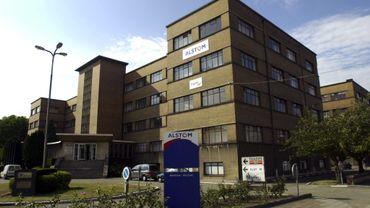 Le bâtiment d'Alstom à Charleroi