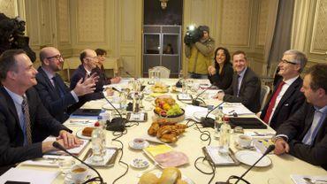 Le Comité de concertation du 8 janvier 2015 dernier.