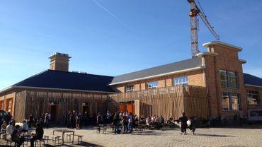 Les abattoirs de Bomel, dorénavant centre culturel et artistique.