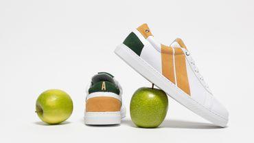 Les sneakers en cuir de pomme de la marque CAVAL.