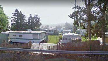 Le camping du Gai Logis, à Wanze, en bord de Meuse.