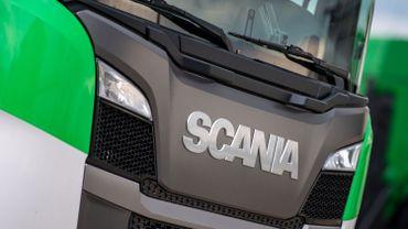 Un camion Scania