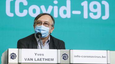 Yves Van Laethem présentera les chiffres du jour.