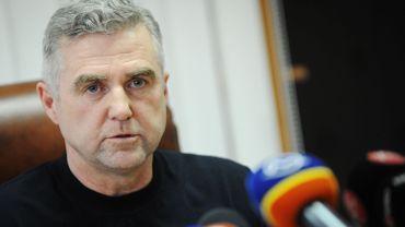 """Tibor Gaspar a déclaré que """"sa démission permettrait finalement au corps de police de fonctionner sans être attaqué""""."""