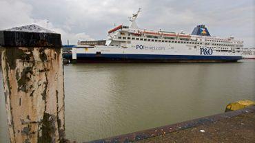Un ferry de la compagnie P&O