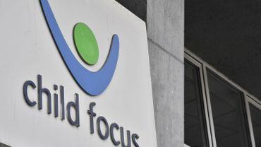 Logo de Child Focus, en 2017