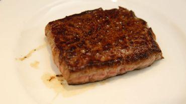 Un steak (image d'illustration)