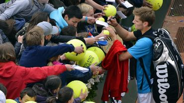 Goffin battu en 3 sets contre Djokovic
