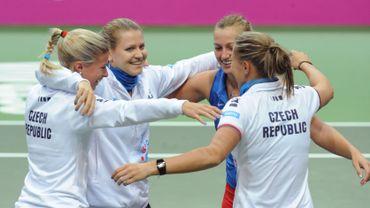 La République tchèque défend son titre contre la Serbie en Fed Cup
