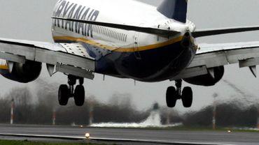 Un avion Ryanair