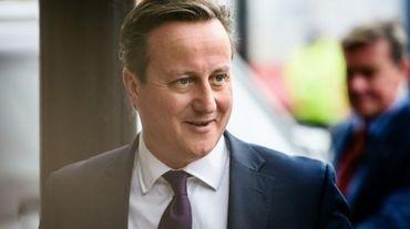 Le Premier ministre britannique David Cameron, le 4 octobre 2015 à Manchester à l'occasion du congrès annuel du parti conservateur