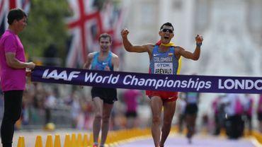 Eider Arevalo sacré champion du monde du 20 km marche