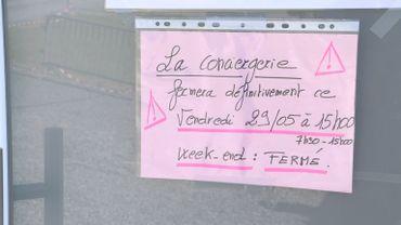 Covid 19: fermeture de la conciergerie de l'hôpital de la Citadelle à Liège