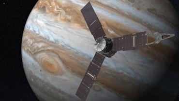 La sonde Juno prête à percer les mystères de Jupiter après un milliard de kilomètres