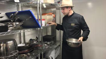 Jean-Philippe Draye élabore son caviar à Tourinnes-Saint-Lambert