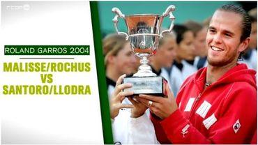Roland Garros 2004: Malisse et Rochus vainqueurs en terrain inconnu