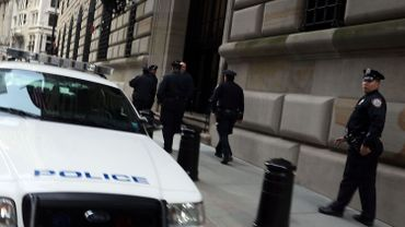Illustration: la police à New York