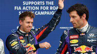 """Horner: """"Vettel-Webber, meilleure paire de pilotes de F1"""""""