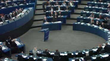 Illustration : le parlement européen à Strasbourg