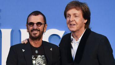 Ringo Starr et Paul McCartney