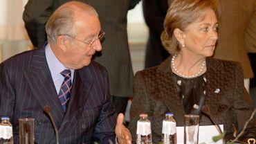 Le roi Albert II et la reine Paola