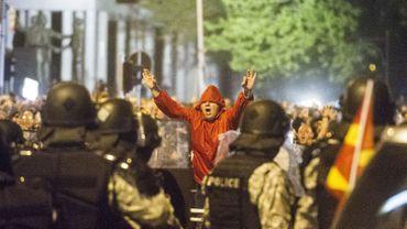Macédoine: la droite reprend ses manifestions à Skopje