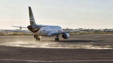 Airbus sur le tarmac de l'aéroport de Tripoli, en décembre dernier