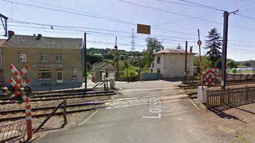 La demande de permis concerne quatre passages à niveau situés dans le zoning de Seilles, et deux à Sclayn (illustré ici).