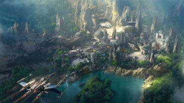 Des Star Wars Lands sont en construction à Orlando et Los Angeles dans l'enceinte des parcs Disney. ©2016 Disney/Lucasfilm