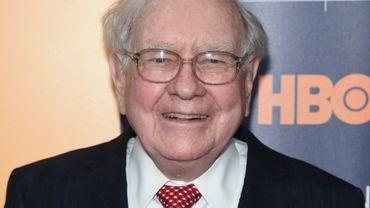 Le milliardaire Warren Buffett, le 19 janvier 2017 à New York