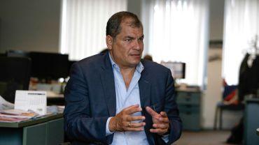 L'ex-président équatorien Correa dit être victime des journalistes qui ont porté plainte