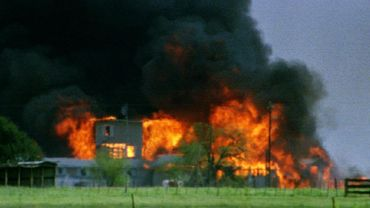 L'incendie de la ferme des Davidiens à Waco en 1993