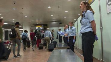 A Bruxelles-National, les douaniers font du zèle pour se faire entendre