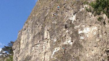 Alpinisme: Namur équipe ses voies d'escalade de broches et laisse les pitons de côté