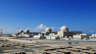 La centrale nucléaire de Barakah aux Emirats arabes unis. Image fournie par le service presse de la centrale le 13 février 2020.