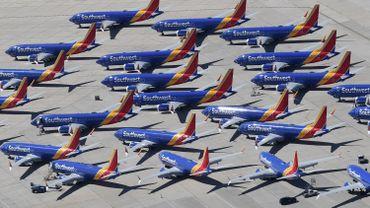 Boeing estime à 1 milliard de dollars le premier coût de l'immobilisation de ses 737 MAX