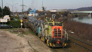 A Chertal, l'ancienne voie ferrée de l'aciérie sera réaménagée pour accéder au Trilogiport