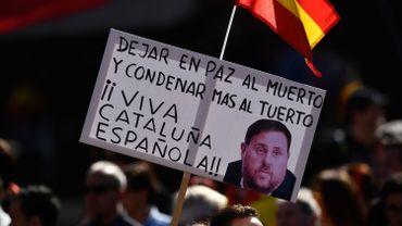 L'indépendantiste catalan emprisonné Oriol Junqueras.